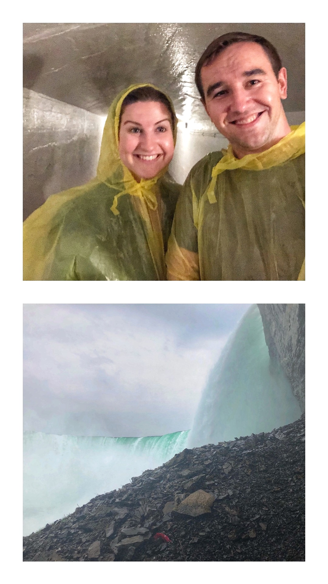 We loved our Journey Behind the Falls as part of our Niagara Falls adventure