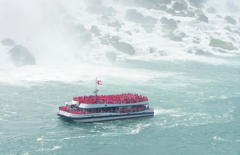 Hornblower Cruises, a company that operates Niagara Cruises, is a safe bet for those who want adventure in Niagara Falls