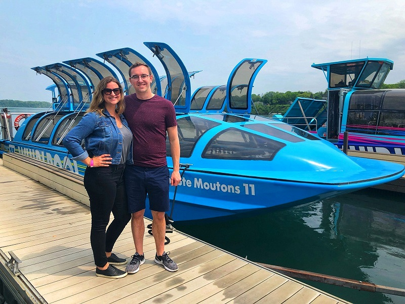 Going on a jet boat in Niagara Falls was an epic adventure in Niagara Falls!