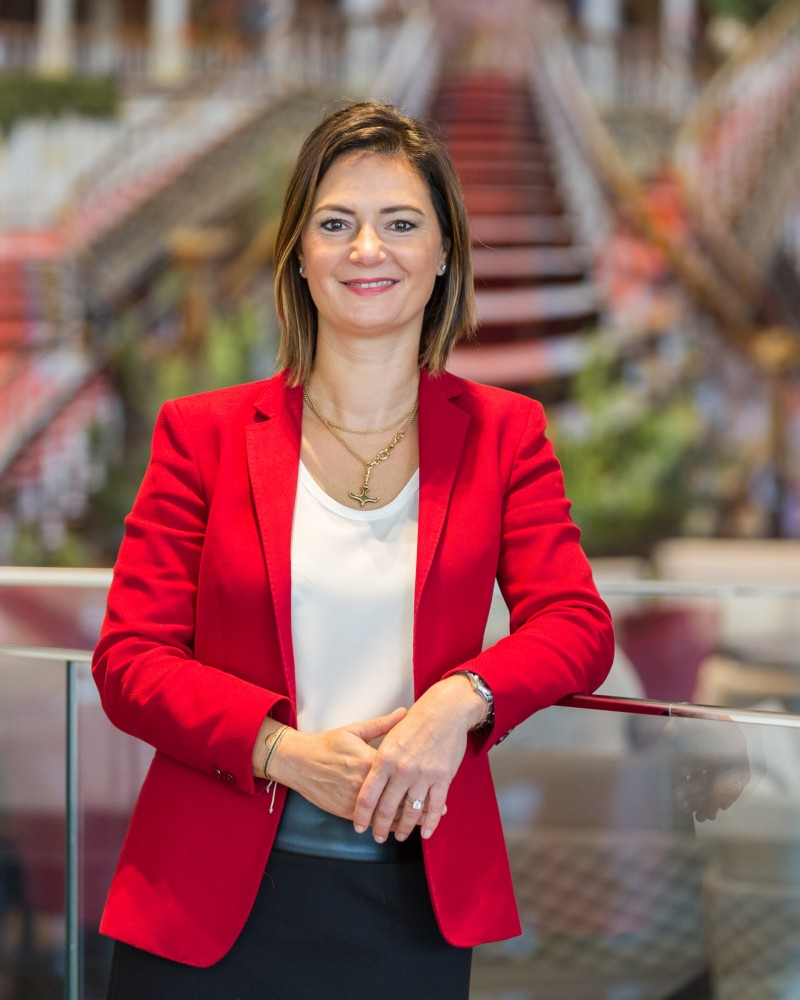 Deniz Met is the Director of Marketing at Raffles Istanbul
