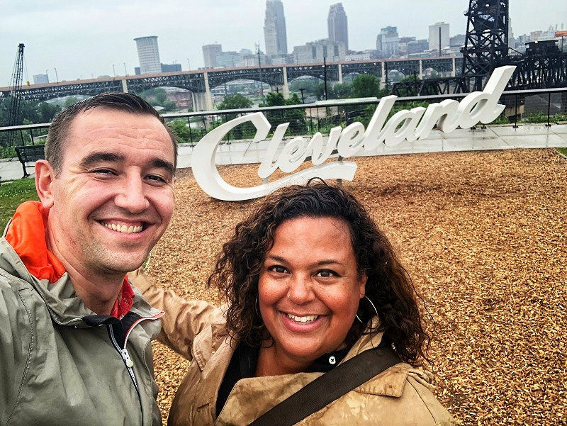 The Cleveland script signs are a fun photo op, which makes them perfect for the list of fun things to do in Cleveland, Ohio.