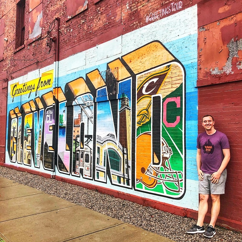One of the fun things to do in Cleveland, Ohio is to explore the Cleveland graffiti and street art.
