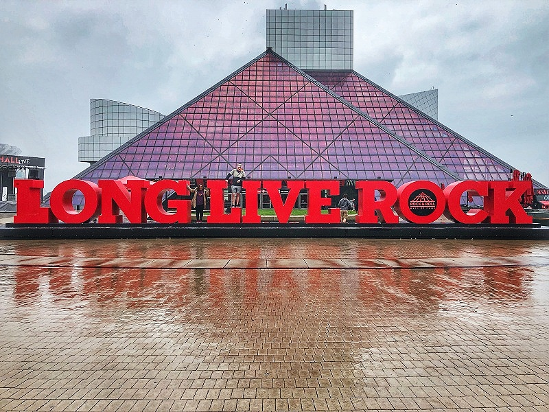 Cleveland's Rock and Roll Hall of Fame is one of the best ways to have fun in Cleveland
