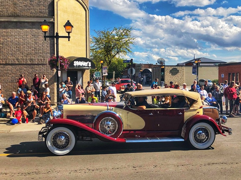 The Classic Car Cruise at RetroFest in Chatham-Kent, Ontario was a blast!
