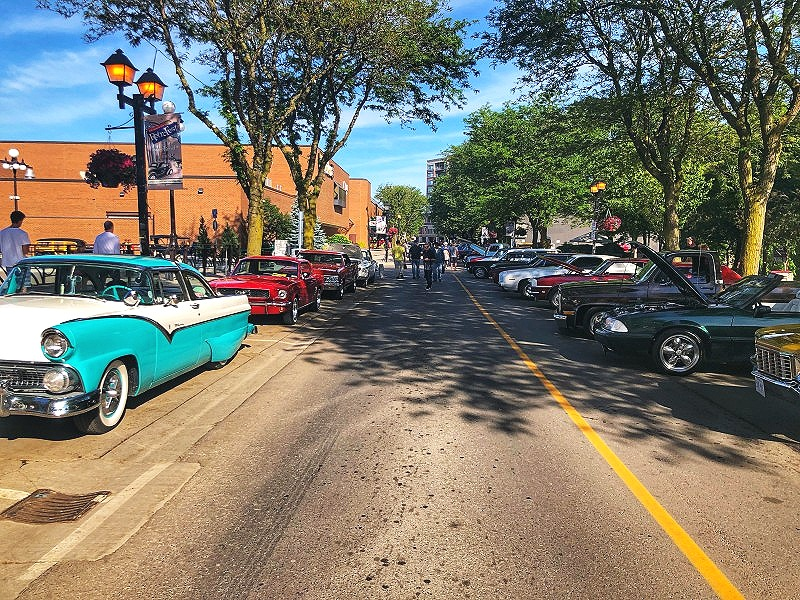 The KHAC Classic Car Show in Downtown Chatham was something to behold