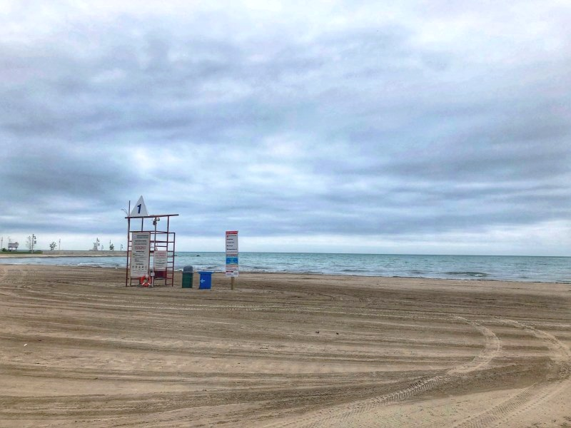 Port Stanley Beach in Port Stanley, Ontario (a part of Elgin County) is one of the most scenic places in Ontario