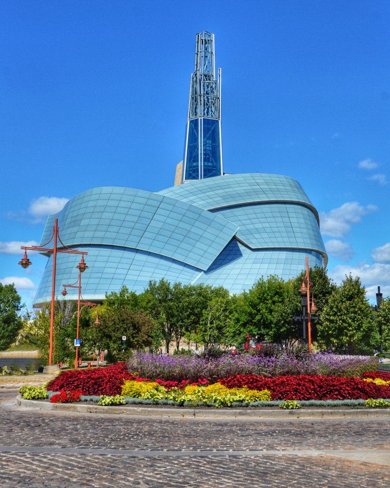 The Canadian Museum for Human Rights is one of the top places to visit in Winnipeg, Manitoba!