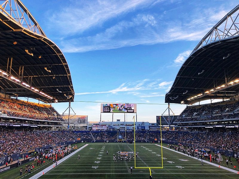 Investors Group Field or IG Field is home to the Winnipeg Blue Bombers, and that makes this spot one the top places to go in Winnipeg, Manitoba
