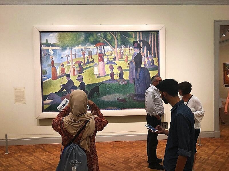 You should include the Art Institute of Chicago in your Chicago itinerary if you're spending two days in Chicago.