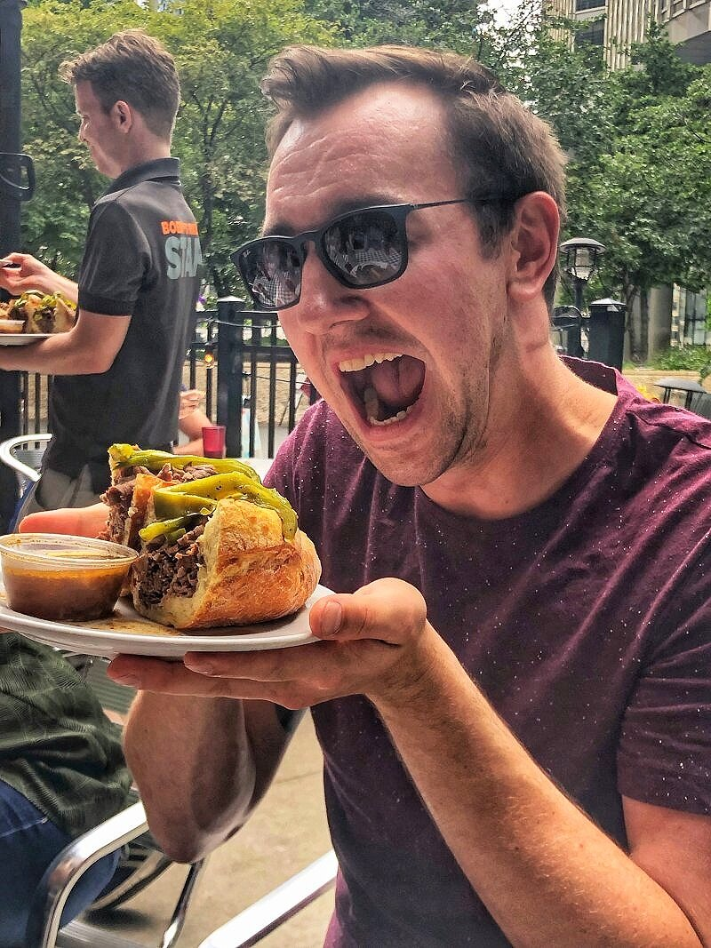 If you're only got 48 hours in Chicago, be sure to eat a lot of food in Chicago!