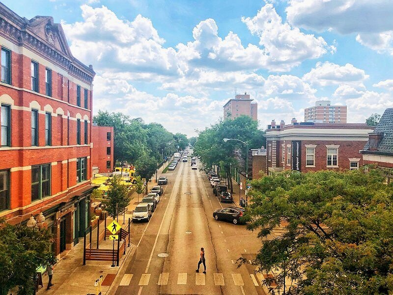 If you've only got two days in Chicago, you should still make an effort to get to the WIcker Park neighbourhood in Chicago!