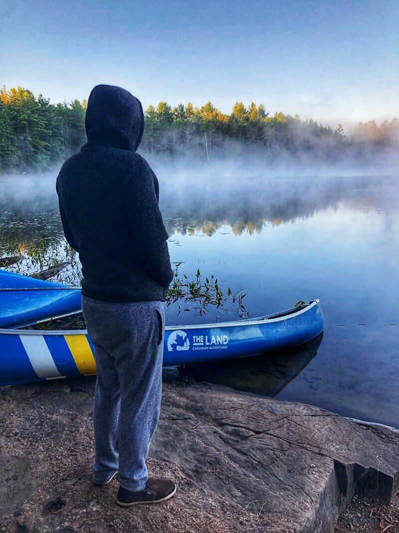 We explored Kawartha Highlands Provincial Park with The Land Canadian Adventures