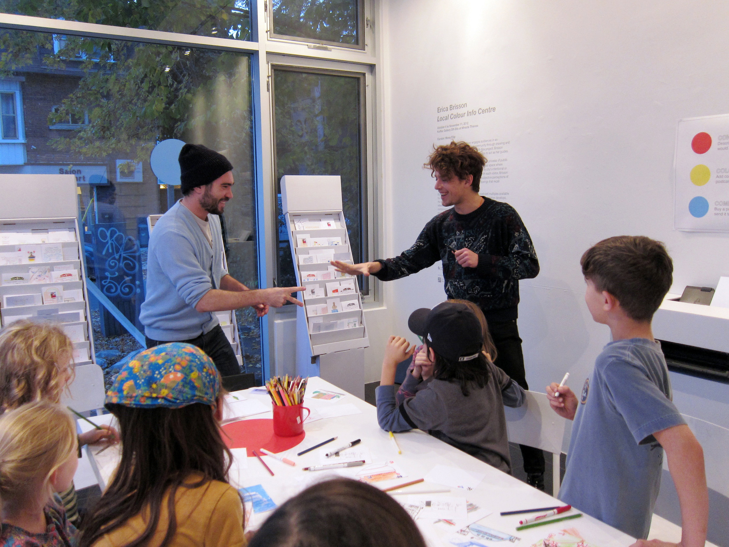Workshops with community groups
