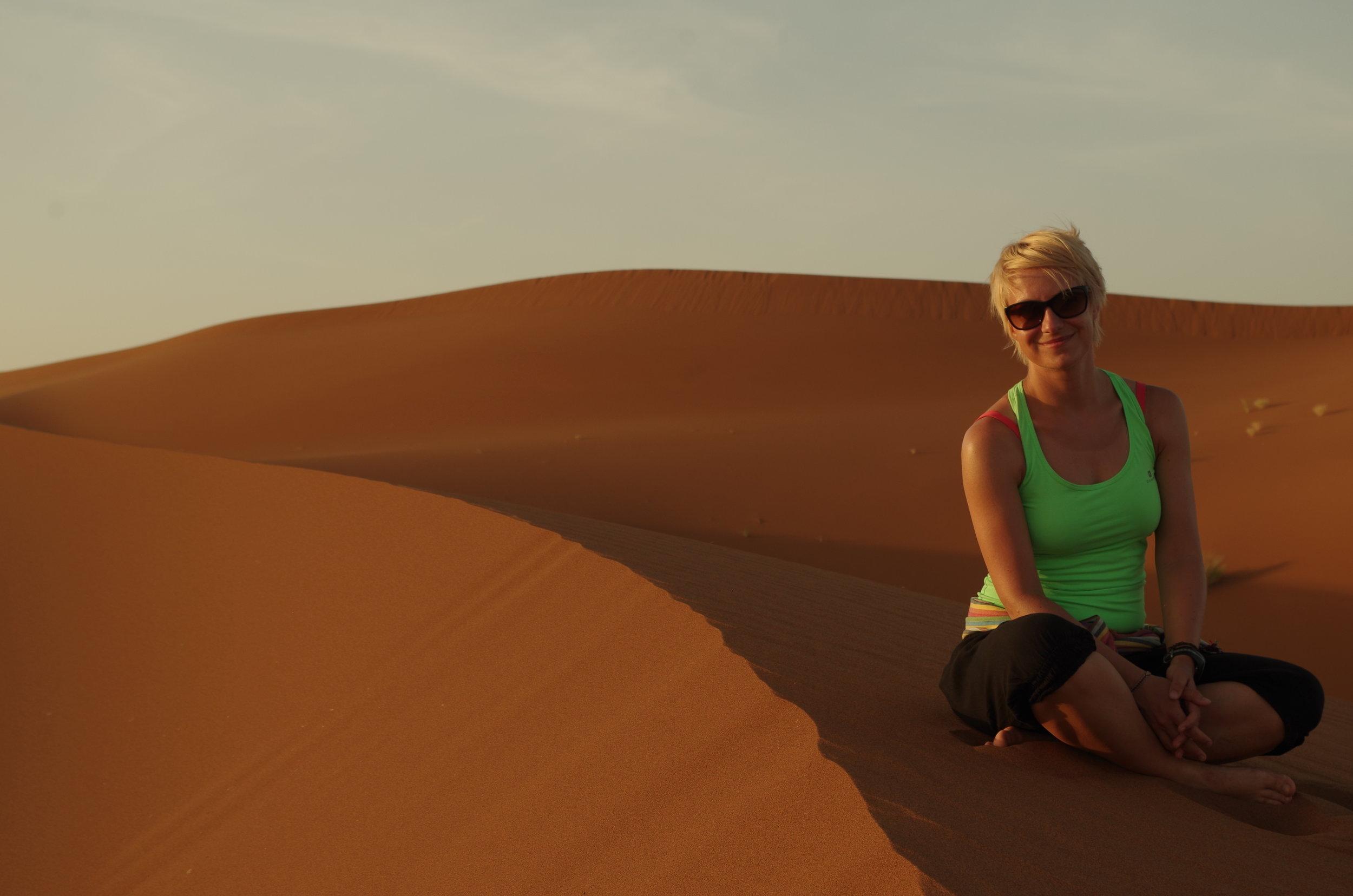 A sivatag csöndje