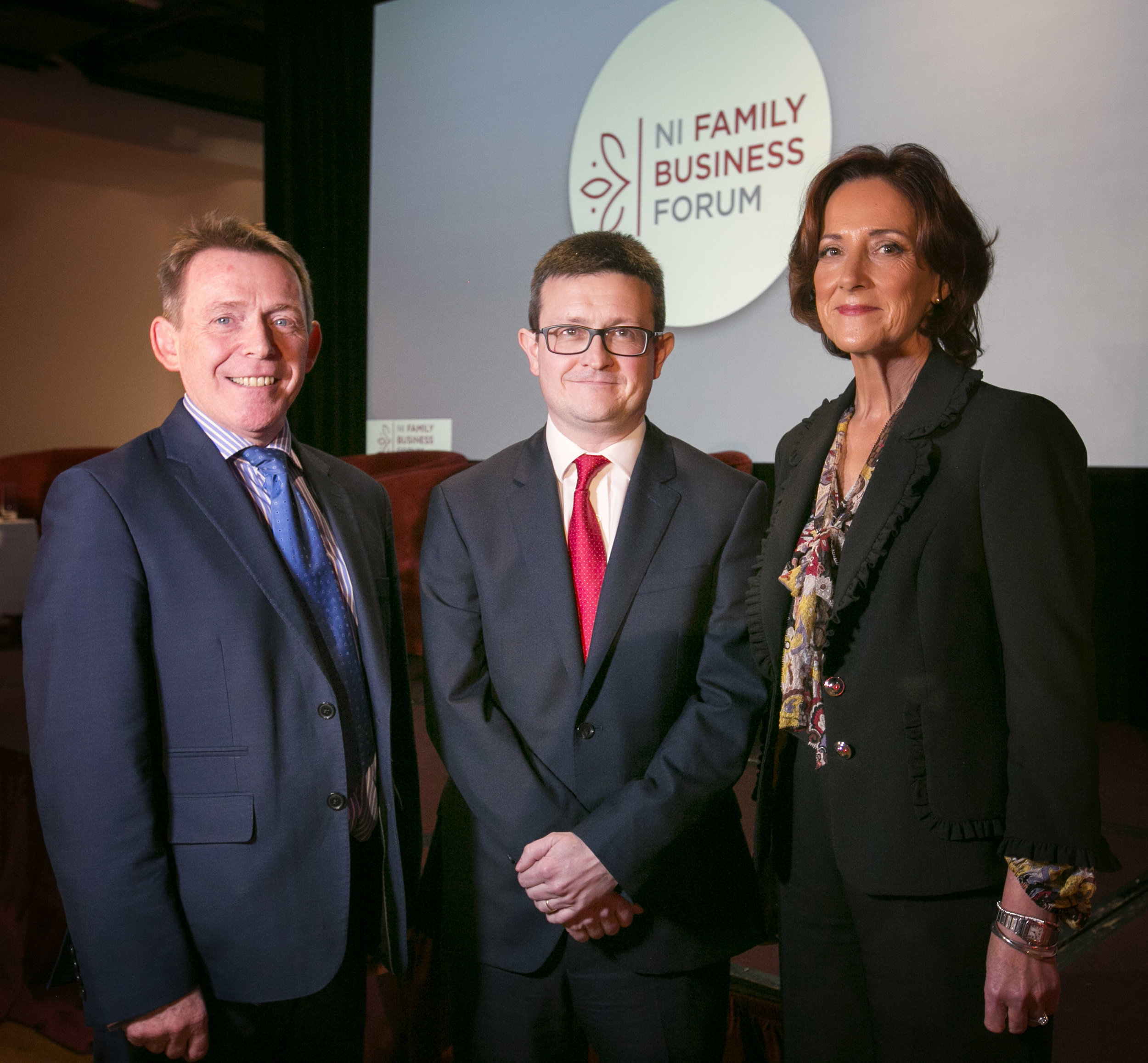 NI Family Bus Forum Pic Michael McQuillan Darren McDowell Vicki O'Toole Nov 2017.jpg
