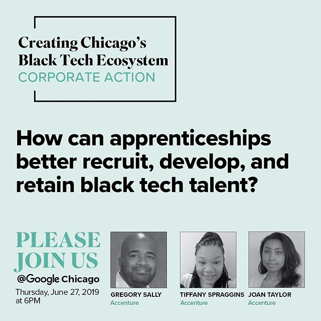 Apprenticeship programs have incredible untapped potential to help Black candidates successfully enter the tech sector. Accenture discussed how they are deploying their apprenticeship program to provide career opportunities in the Black Tech Ecosystem.  #CHISBTE19 #SmartBTE