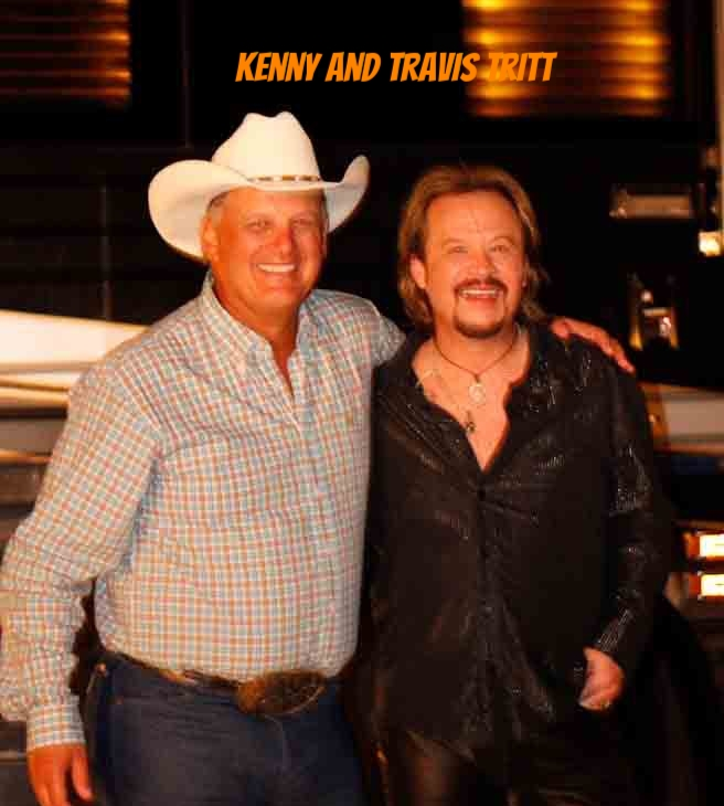 Kenny with Travis Tritt