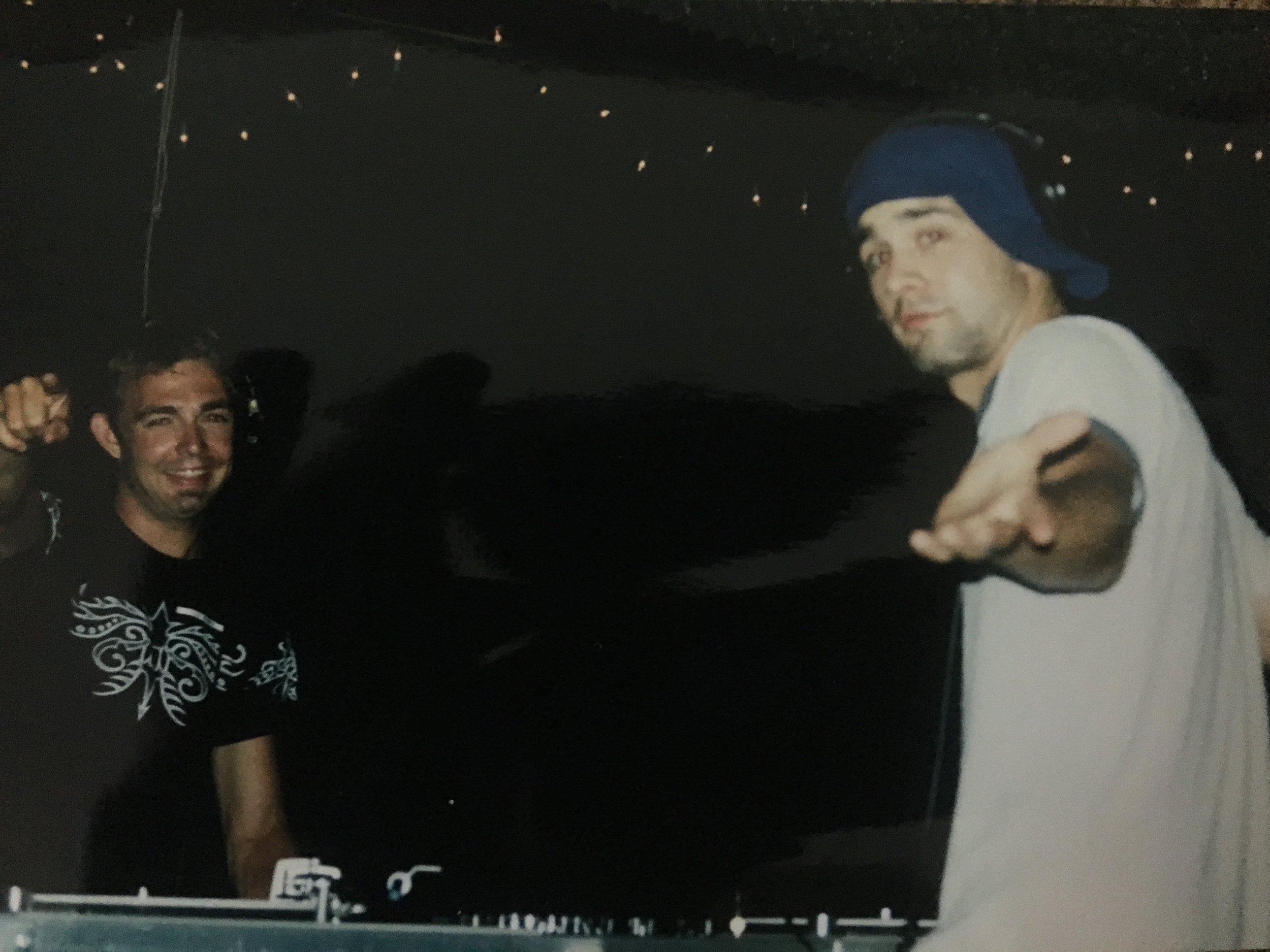 L: DJ Agua and RJ