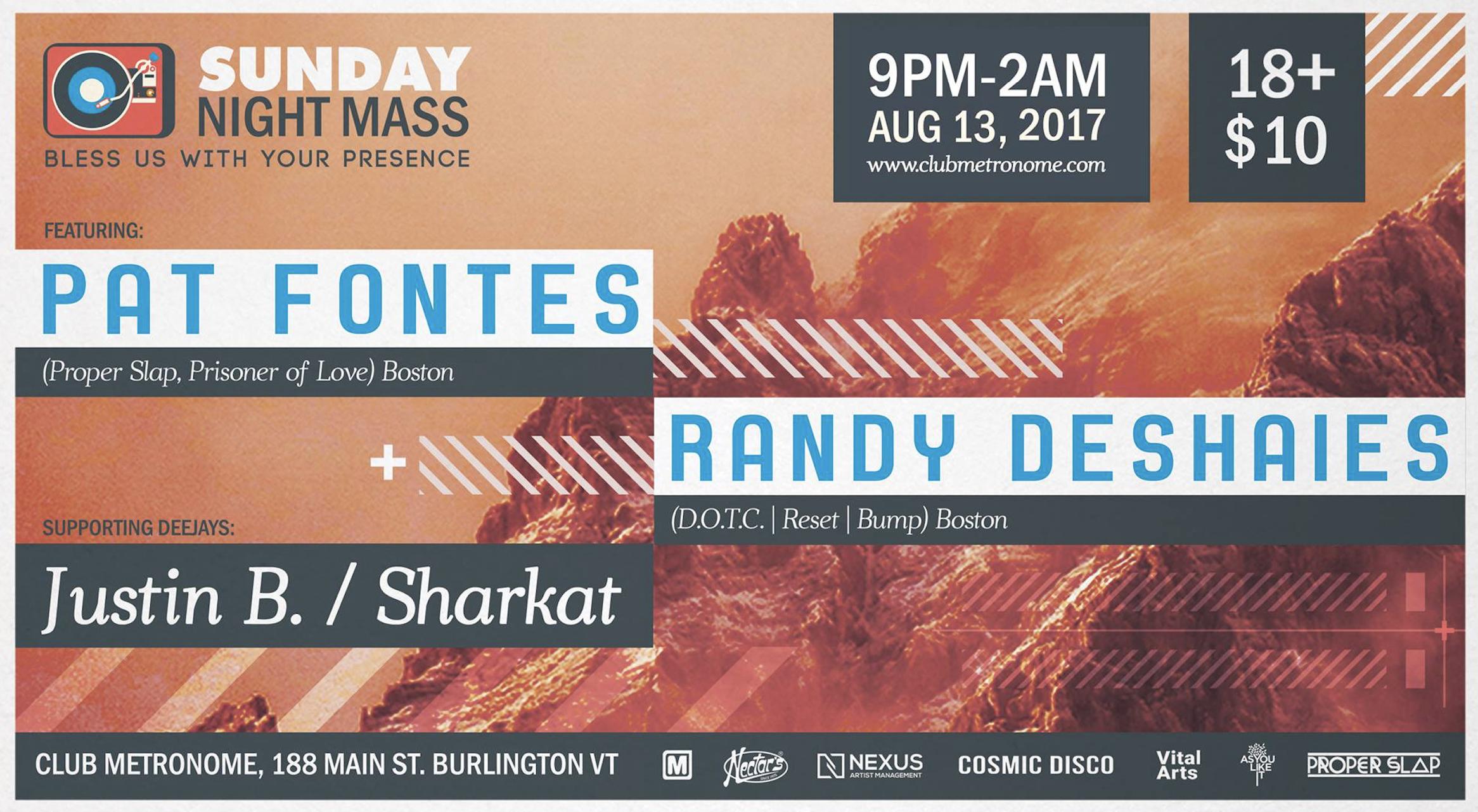 Artwork for Sunday Night Mass this Sunday, August 13, 2017