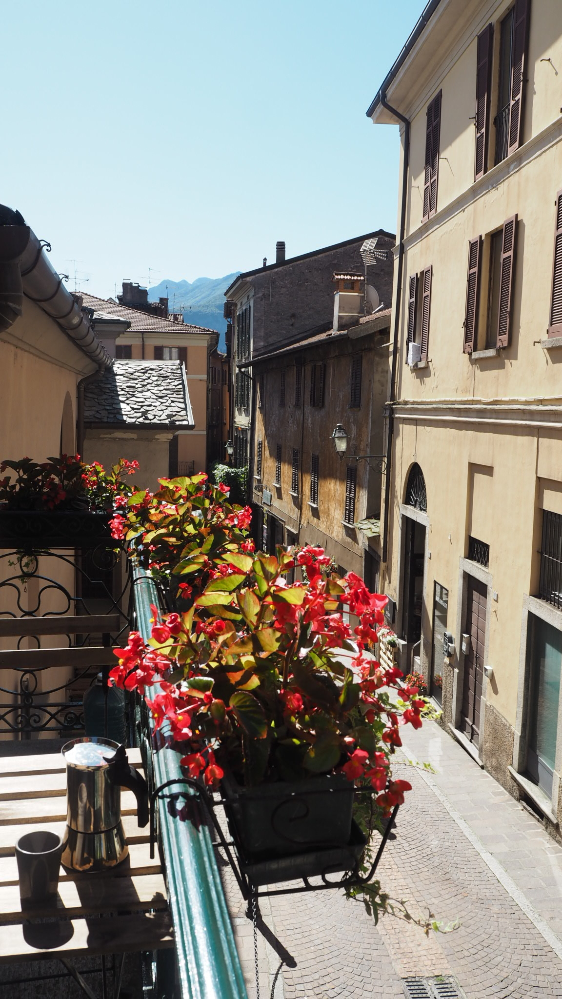 Mornings in Menaggio