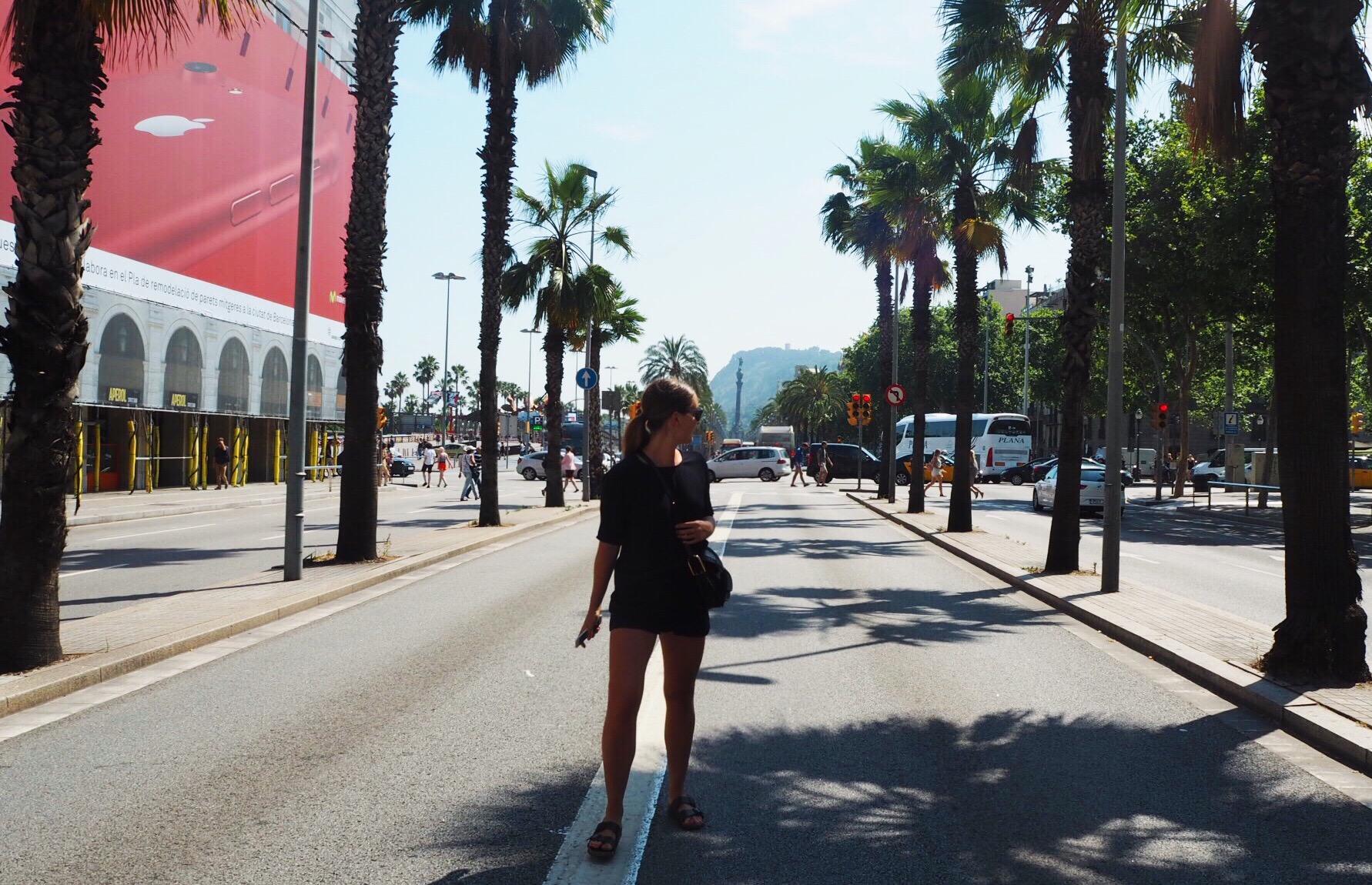 Seaside vibes in Barcelona