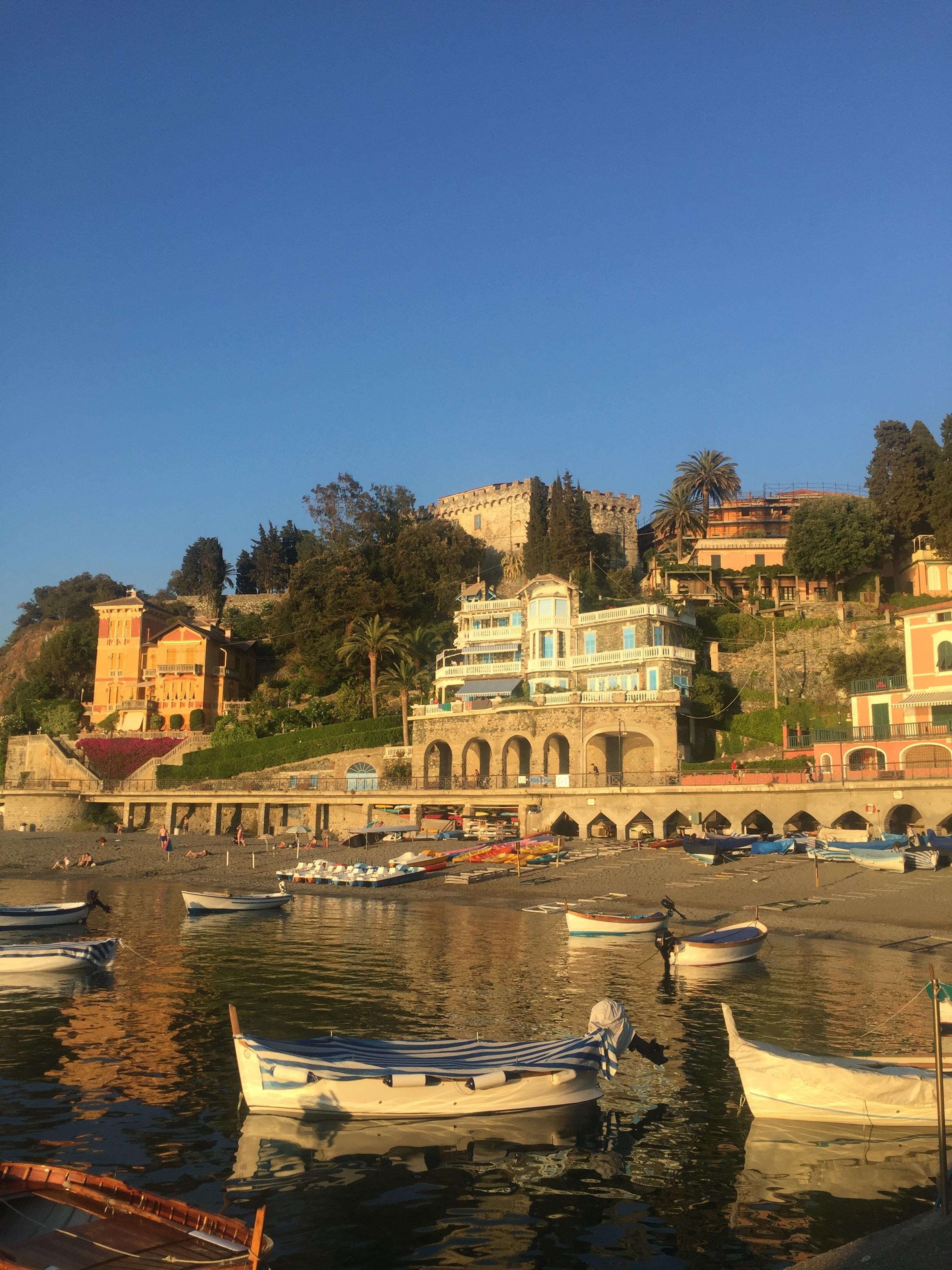 Golden hour in Levanto