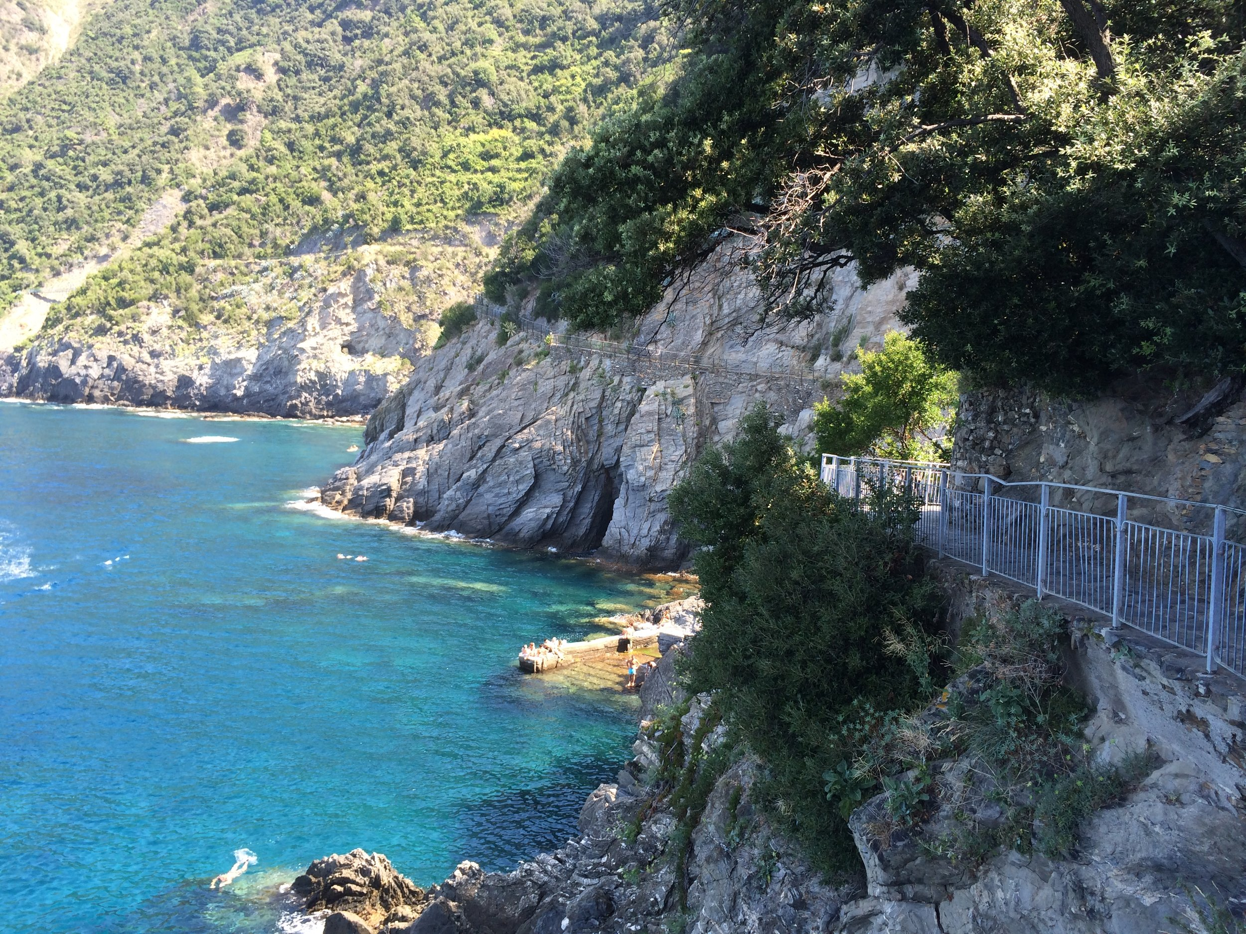 Coastal hiking trails