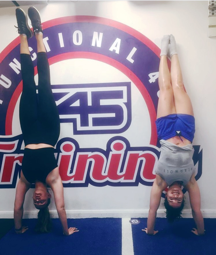 The sort of weird F45 shit you end up doing because, well, who knows?!