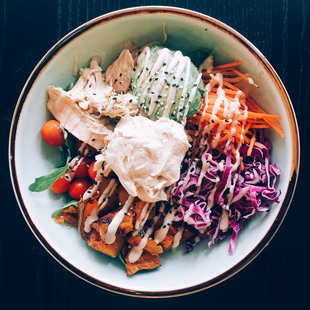 Nourishing Buddha Bowl By Food Rebel PC: @_rosiehope