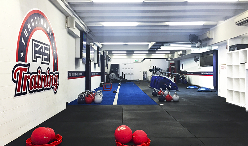 PC:  F45 Training Amoy Street