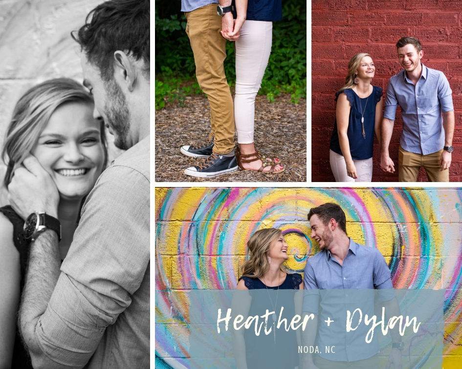 Dylan + Heather Noda Session l Kate Lynn Imagery l Charlotte Portrait Photographer