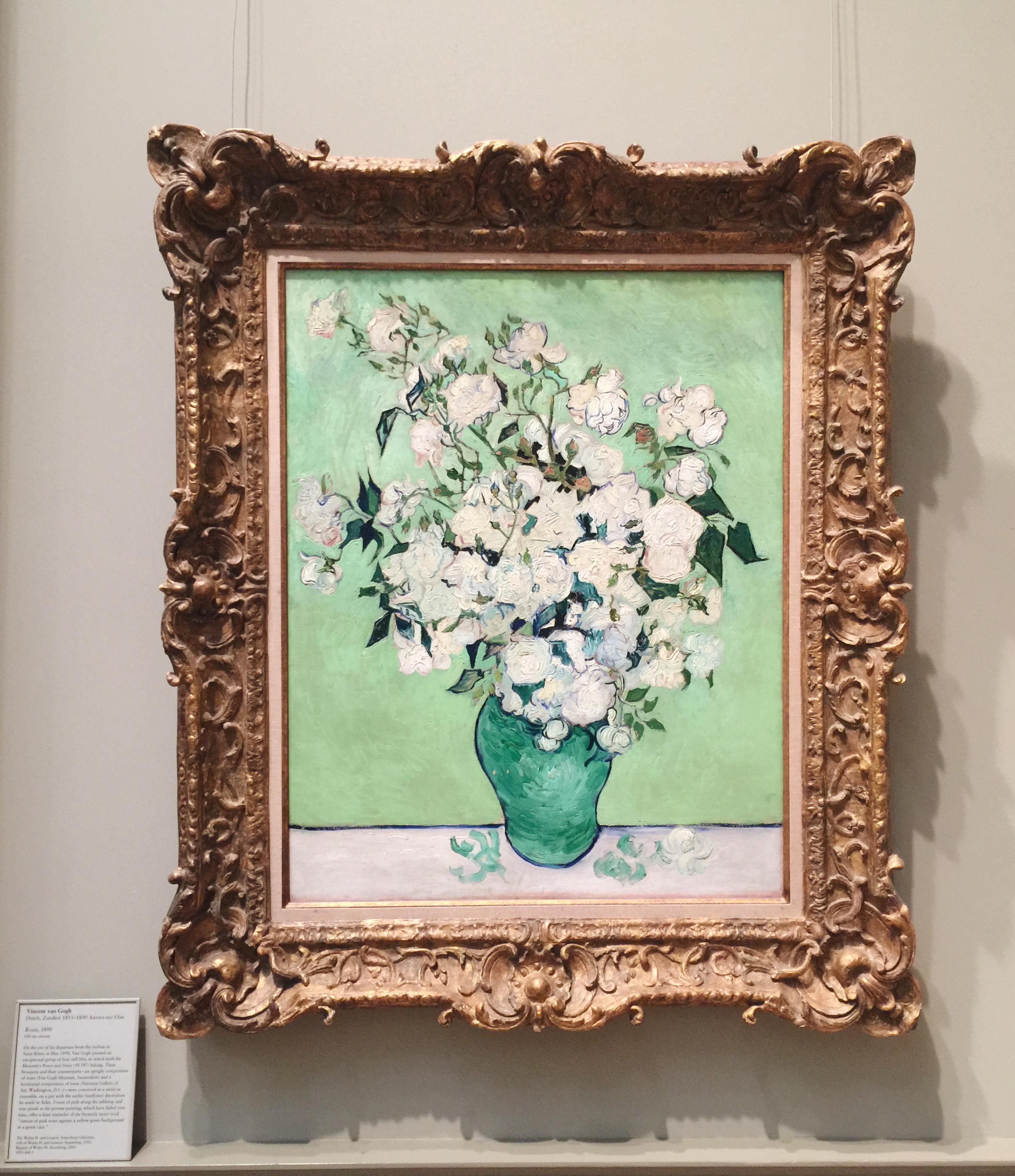 Vincent Van Gogh's  Roses