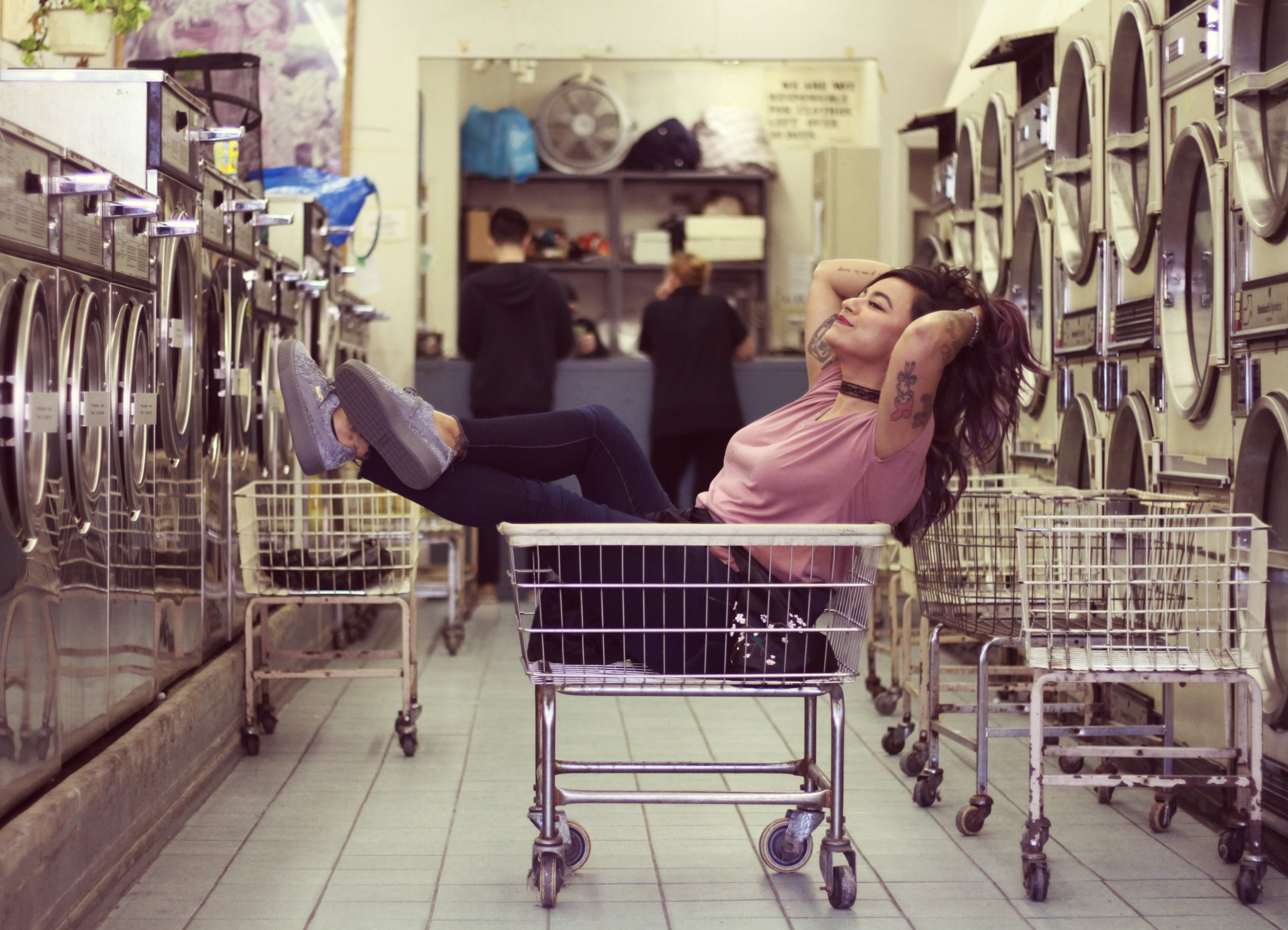 Laundry Day By @AngieLMV | Edited by Me