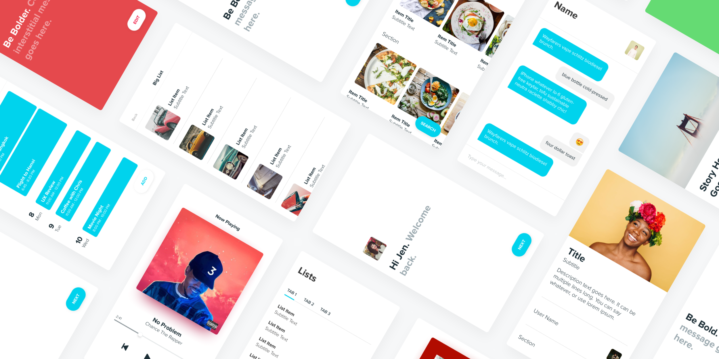 Design better apps in less time. - Blox UI Kit is a performance enhancing drug for designers.