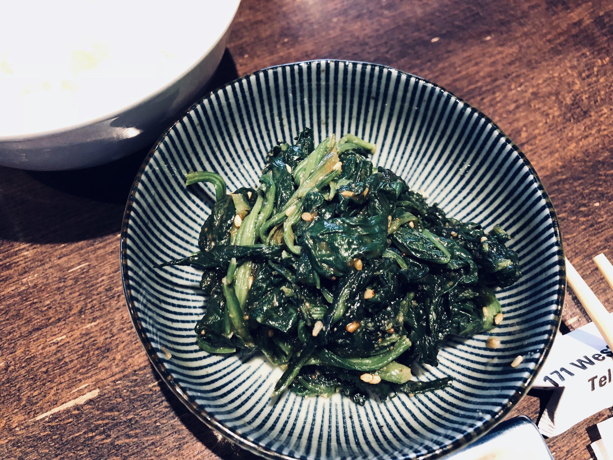 Spinach gomaee