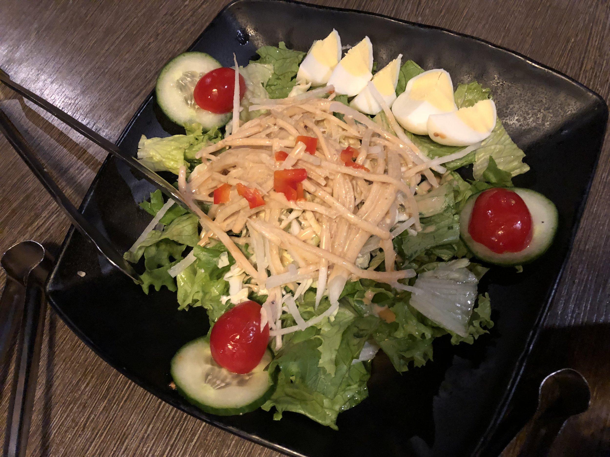 This salad was SOOOO good