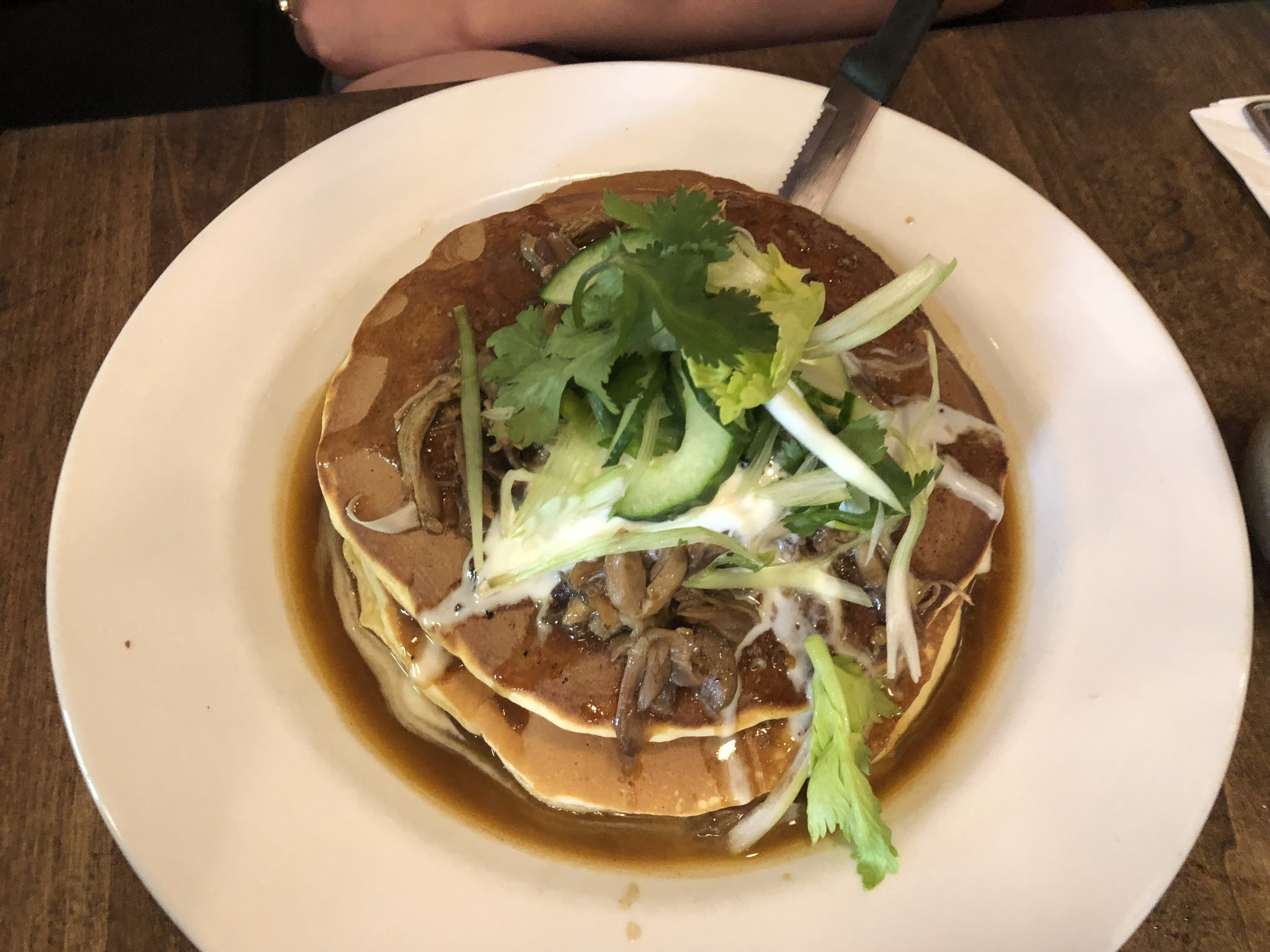 Duck Pancake Special