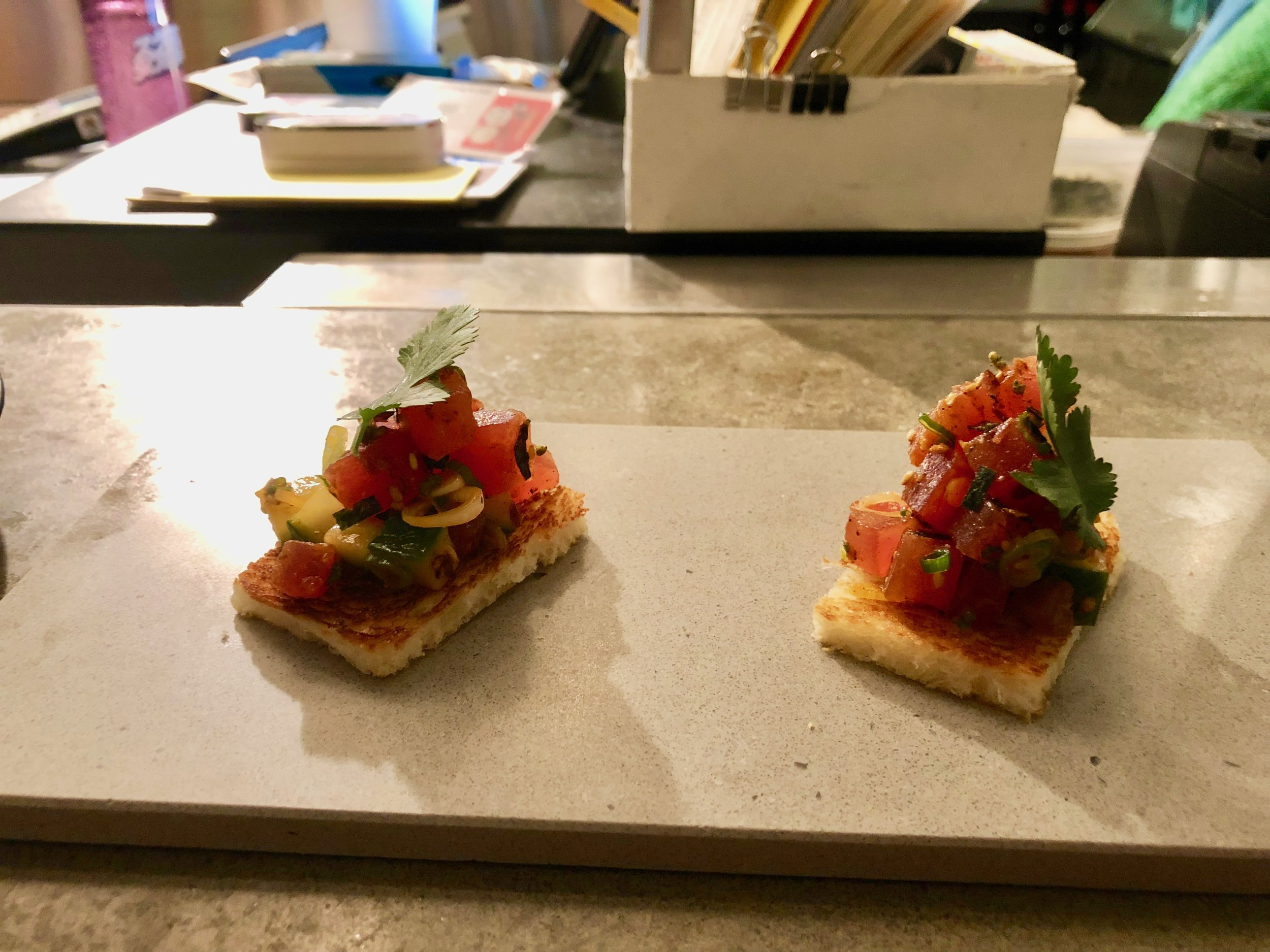 The best things since slice bread - it just doesn't work… - Ahi tuna