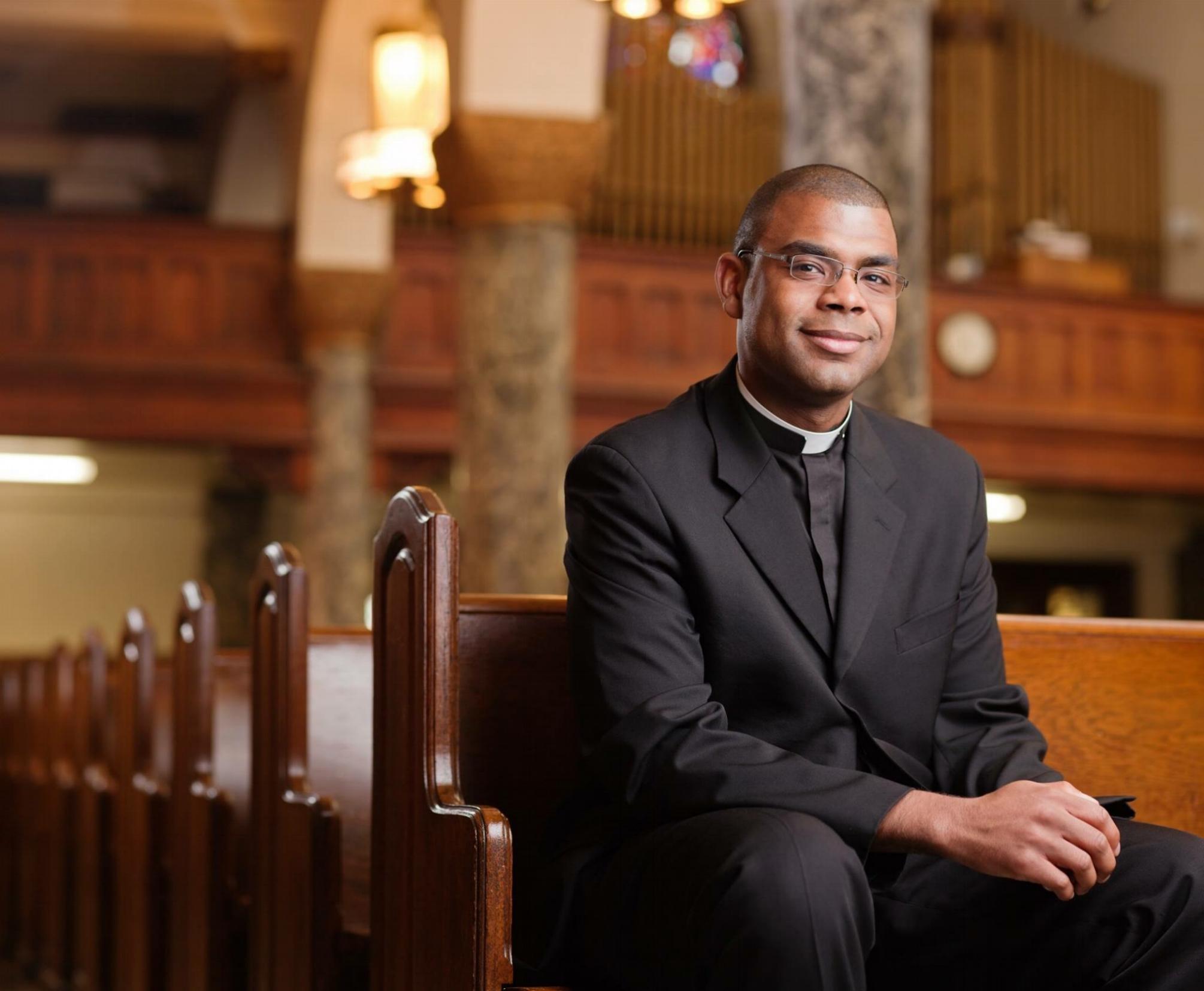 Father Alonzo Cox, Pastor