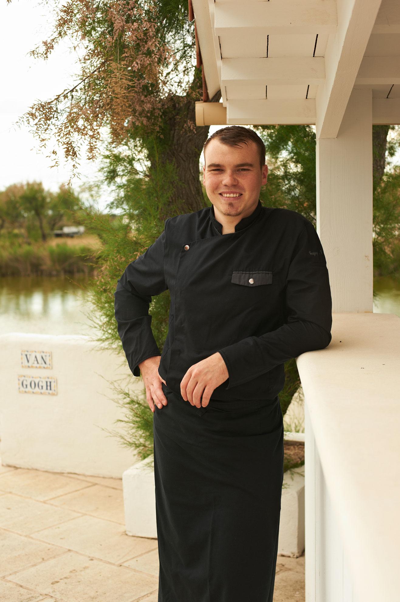 Chef Grégory Van de Wege