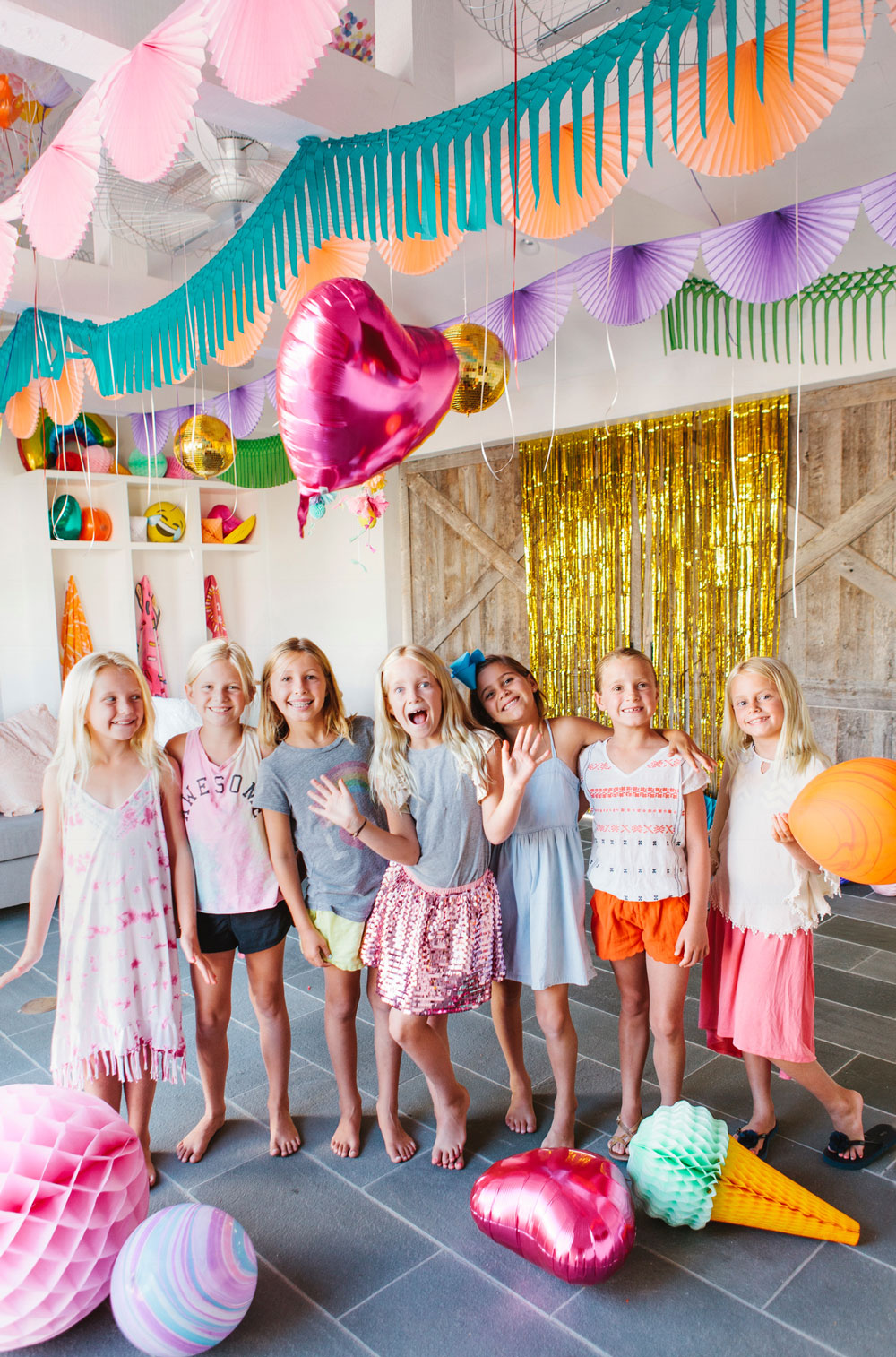 FORREST AND J - Rainbow and Unicorns Birthday Party - Featured on 100 Layer Cakelet