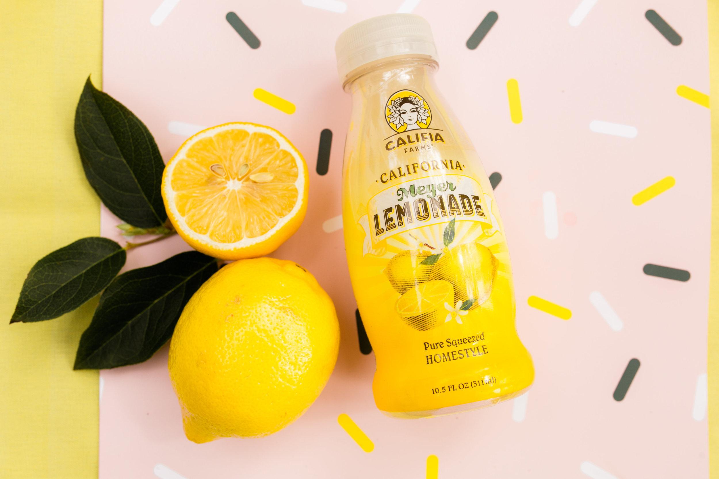 Lemonade Stand Califia Farms Lemonade - Custom Paper from Midnight Confetti