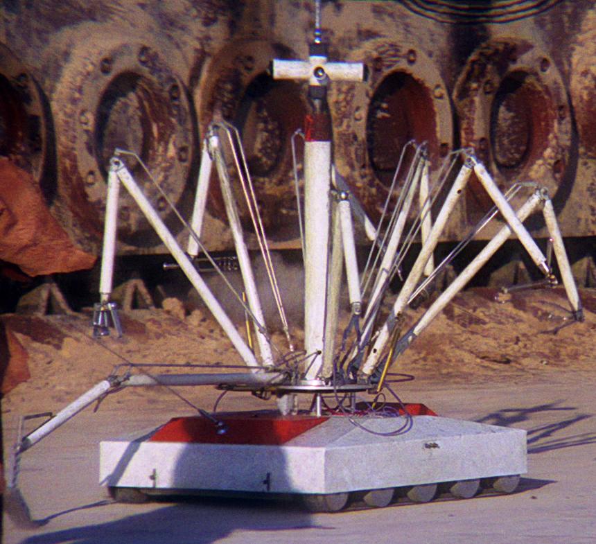 Actual droid (courtesy Wookiepedia)