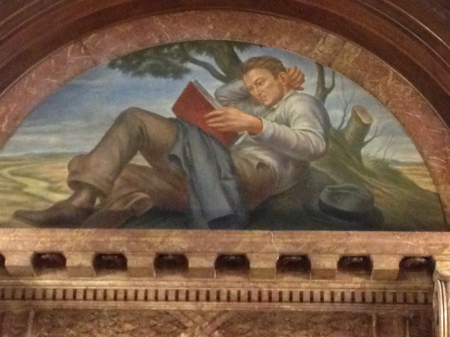 I snapped this photo at the New York Public Library in 2013.