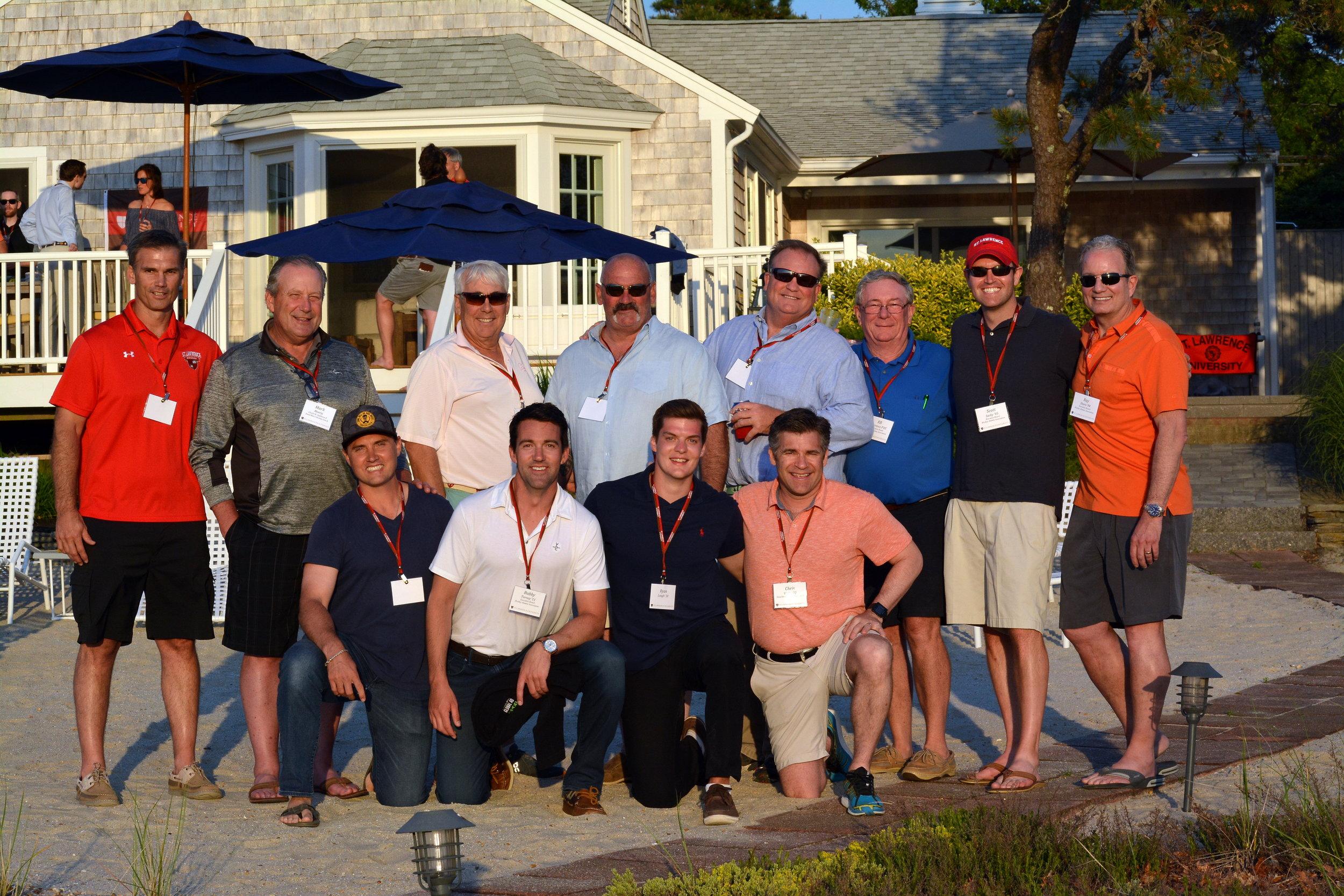 Saints Hockey Alumni Executive Board and Coaches