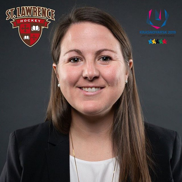 Congrats to Chelsea Grills '07 M'08, who will be representing Canada as an assistant coach with hockey Canada at the Winter Universiade in Russia, coming up in March! #sluhockey #sluhockeyalumni 📸: Greg Mason, UOttawa