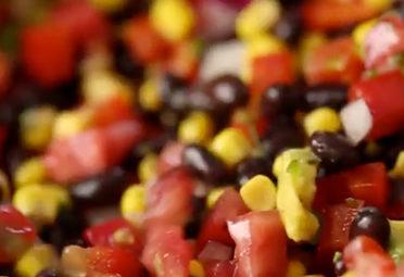 Spicy Black Bean Salad