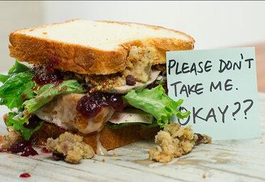 Ross Gellar's Thanksgiving Sandwich
