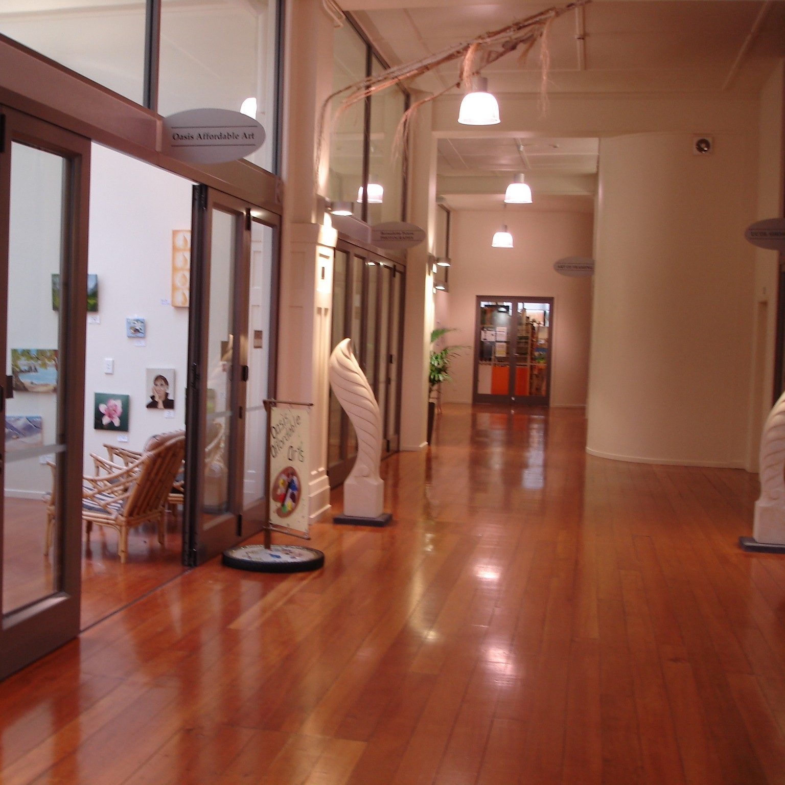 GALLERY 2   Suitable for: Exhibitions Capacity: 50 Hire rate: Quotation on request.  More info >