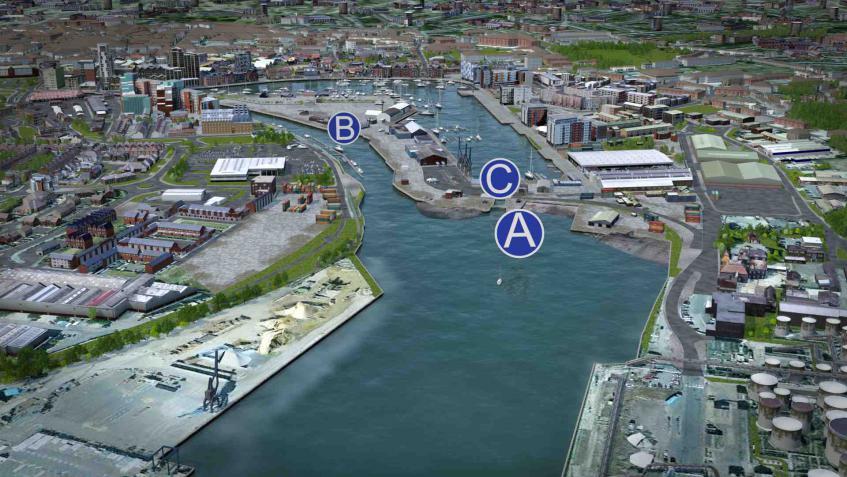 ipswich, waterfront, orwell crossings, developments